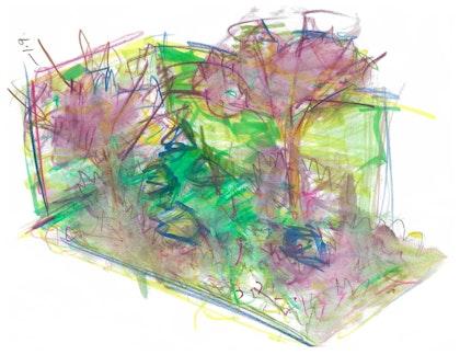 Concept sketch perspective