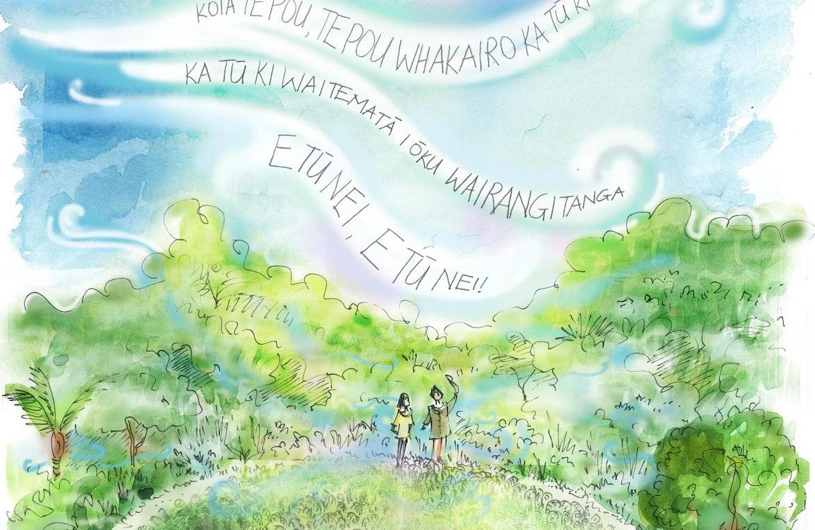 He Aha Te Hau sketch